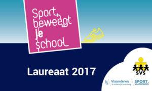 Sport beweegt je school 2017